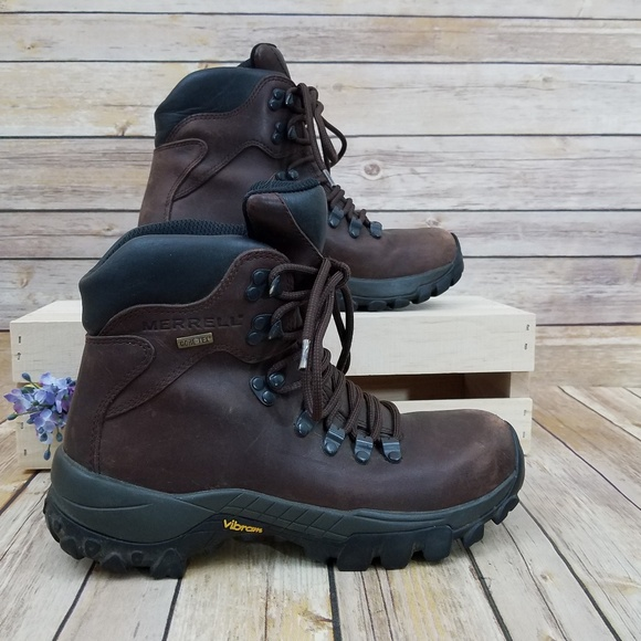 22ba516e05 Merrell 7 Explorer GoreTex III Brown Work Boots